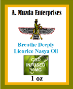 Breathe Deeply Licorice Nasya Oil with CBD